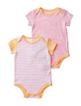 Boppy 2-pk. Pink & Orange Owl Bodysuits – Baby 0-9 Mos.