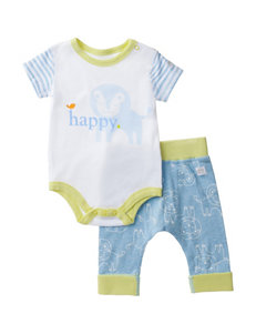 Boppy 2-pc. Happy Lion Bodysuit & Pant Set – Baby 0-9 Mos.