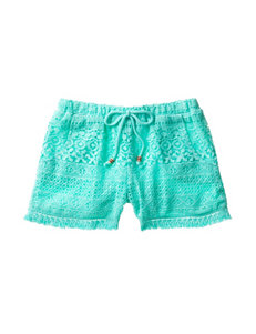 My Michelle Mint Soft Shorts