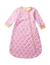 Boppy Pink & Orange Quatrefoil Print Sleep Bag – Baby 0-9 Mos.