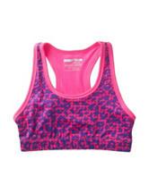 Champion® Sport Pink & Purple Leopard Print Sports Bra – Girls 7-16