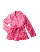 Urban Republic Pink Plaid Trench Coat – Girls 7-16