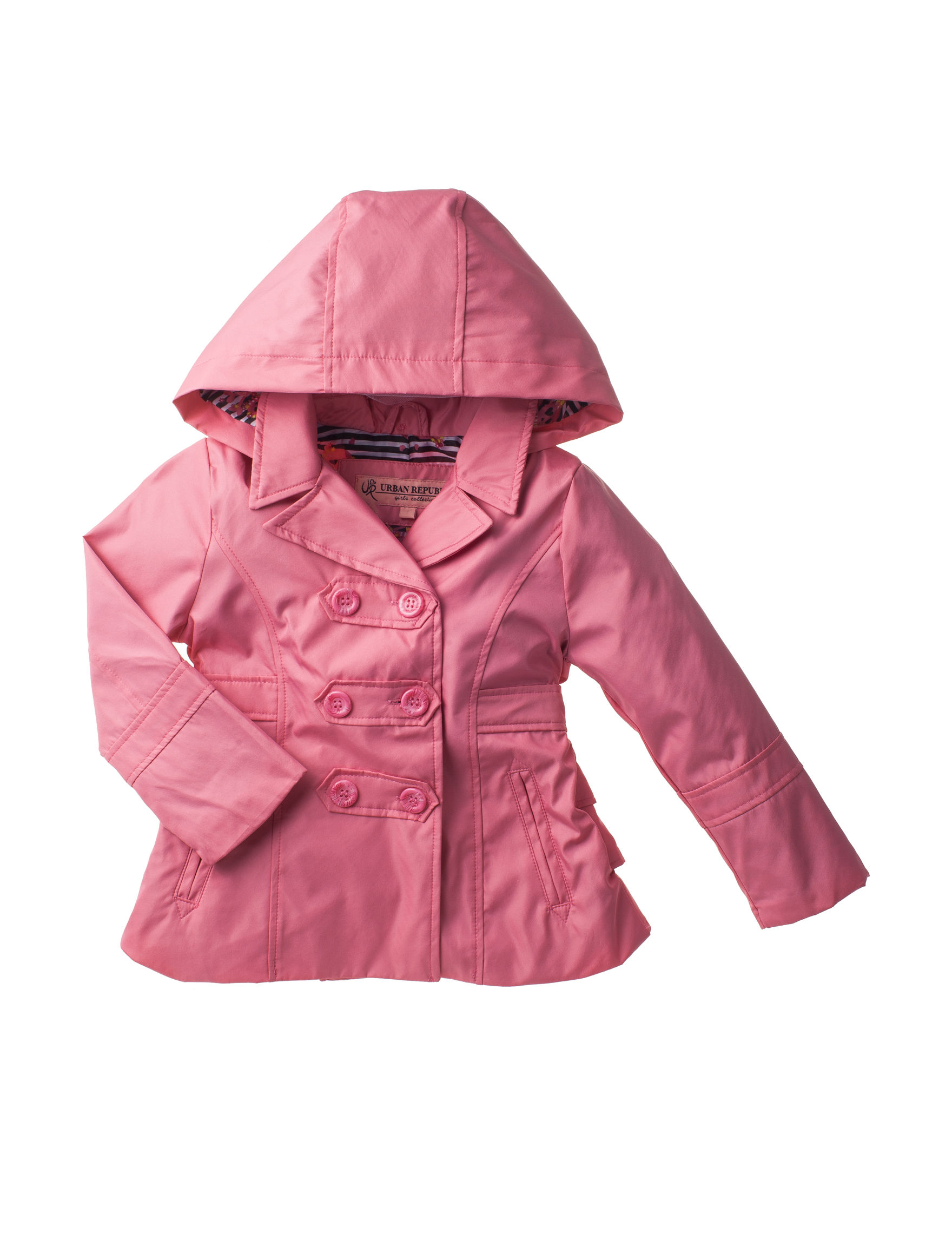 Urban Republic Pink Lemonade Fleece & Soft Shell Jackets