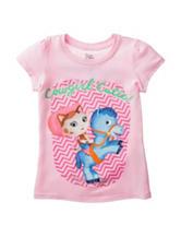 Disney Sheriff Callie Light Pink Cutie Top – Toddler Girls