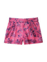 Jessica Simpson Floral Crinkle Shorts - Toddler & Girls 4-6x