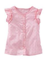 OshKosh B'Gosh® Pink Polka Dot Print Top –  Girls 4-8