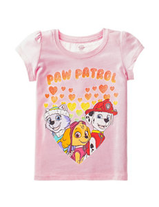 Paw Patrol Hearts T-shirt - Toddler Girls