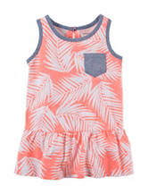 Carter's® Coral Leaf Tunic Top – Toddler Girls