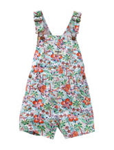 OshKosh B'gosh® Tropical Print Shortalls – Toddler Girls