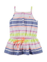 Carter's® Neon Striped Tunic Top – Toddler Girls