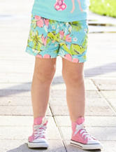 Carter's® Tropical Floral Print Shorts – Toddler Girls