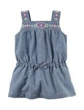 Carter's® Embroidered Chambray Tunic Top – Girls 4-8