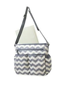Baby Essentials Grey Diaper Bags