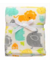 Baby Starters Neutral Yummy Safari Blanket