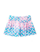 Jessica Simpson Nile Zigzag Print Shorts – Girls 7-16