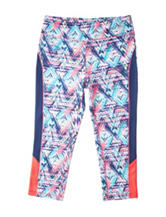RBX Multicolor Abstract Print Leggings –Girls 7-16