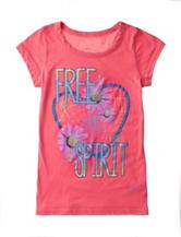 Twirl Coral Pink Free Spirit Top – Girls 7-16