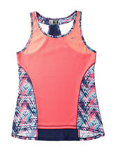 RBX Multicolor Abstract Print Jersey Top – Girls 7-16