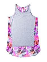 Kensie Multicolor Tropical Print Top – Girls 7-16