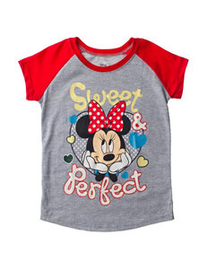 Disney Minnie Mouse Sweet & Perfect Print Top – Toddler Girls