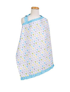 Trend Lab Yellow / Blue Breastfeeding