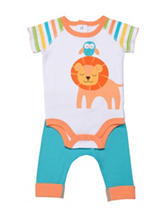 Boppy 2-pc. Jungle Bodysuit & Pants Set – Baby 0-9 Mos.
