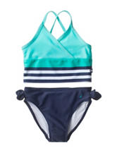 Nautica 2-pc. Striped Print Swim Tankini – Baby 12-24 Mos.