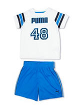 Puma® 2-pc. 48 Top and Shorts Set - Toddler Boys