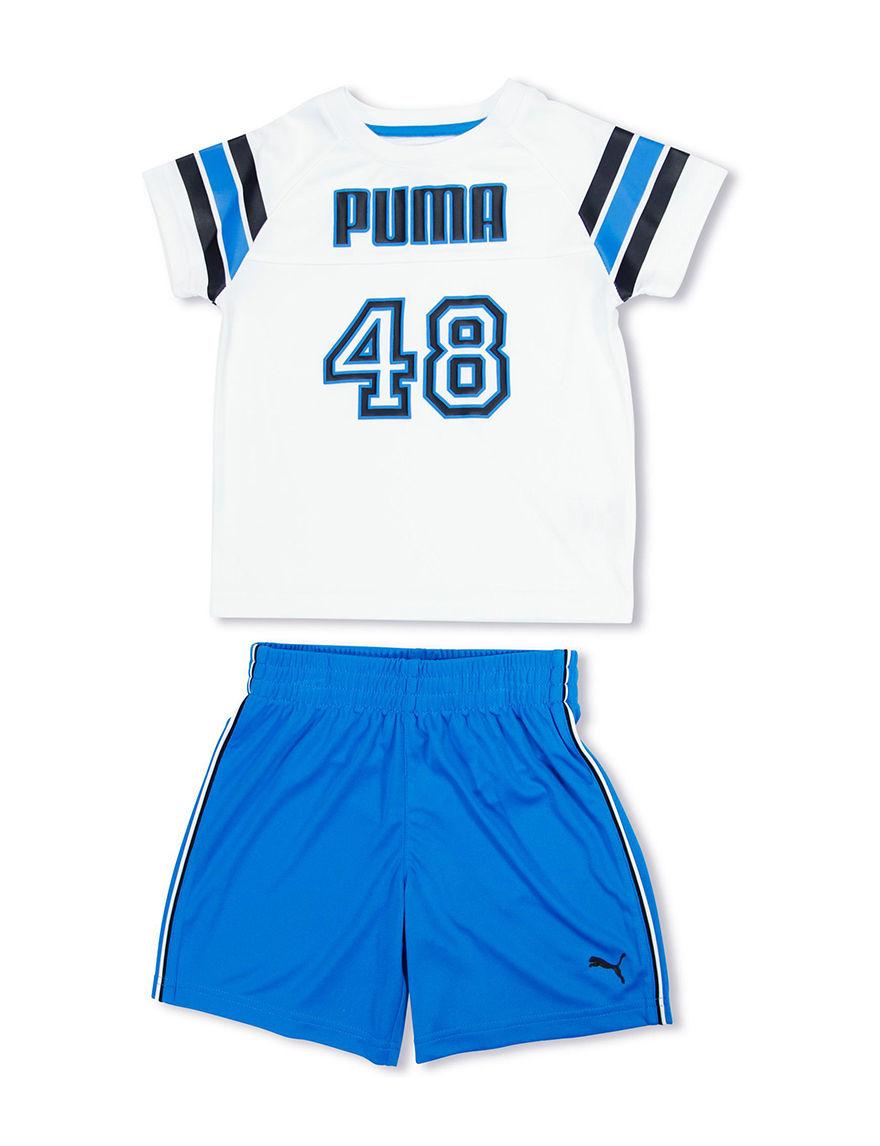 Puma White Stretch