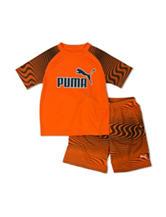Puma® 2-pc. Top & Shorts Set - Toddler Boys