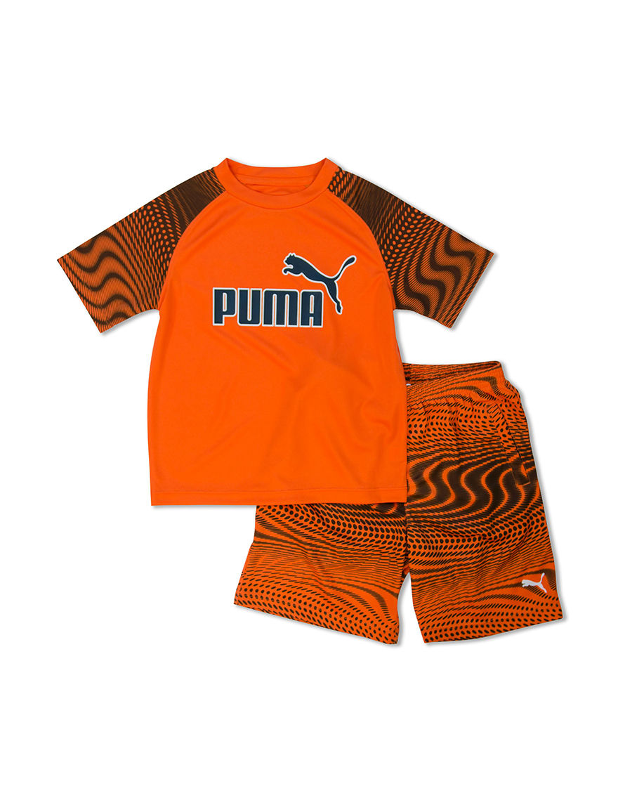Puma Orange Stretch