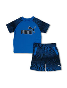 Puma® 2-pc. Top & Short Set - Toddler Boys