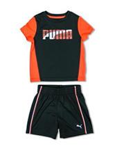 Puma® 2 pc. Top & Shorts Set - Boys 2-7