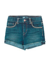 Levi's® Taryn Denim Shorty Shorts – Toddler Girls