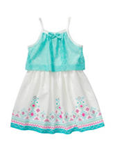 Youngland Crochet Popover Dress – Toddlers & Girls 4-6x