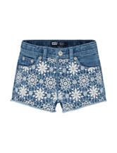 Levi's® Carli Summertime Shorty Shorts – Toddler Girls