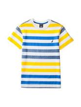 Nautica Multicolor Striped Print T-shirt - Boys 8-20