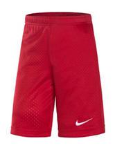 Nike® Red Essential Mesh Athletic Shorts – Boys 4-7