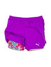 Puma Swirl Running Shorts - Girls 7-16