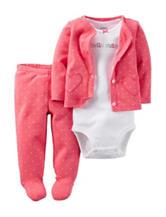 Carter's® 3-pc. Hello Cutie Leggings Set – Baby 0-9 Mos.