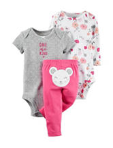 Carter's® 3-pc. One Of A Kind Bodysuit & Leggings Set – Baby 0-9 Mos.