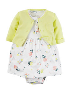Carter's® 2-pc. Little Blooms Dress & Cardigan Set – Baby 0-12 Mos.