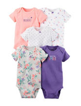 Carter's® 5-pk. Made You Smile Bodysuits - Baby 0-9 Mos.