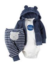 Carter's® 3-pc. I'm So Happy Bodysuit Set - Baby 0-9 Mos.