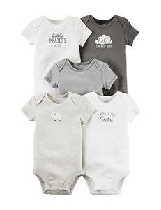 Carter's® 5-pk. Little Lambie Bodysuit Set – Baby 0- 24 Mos.