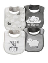 Carter's® 4-pk. Little Lambie Bibs