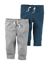 Carter's® 2-pk. Solid Color Interlock Pants – Baby 0-9 Mos.