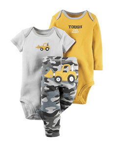 Carter's® 3-pc. Tough Like Daddy Bodysuit & Pants Set – Baby 0-3 Mos.