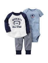 Carter's® 3-pc Little All Star Bodysuit Set – Baby 0-12 Mos.