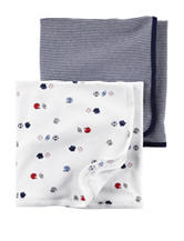 Carter's® 2-pk. Sport Swaddling Blankets